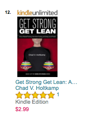 Get Strong Get Lean #12 on Amazon Exercise & Fitness - Training