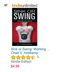 Sink or Swing #57 on Amazon Exercise & Fitness - Training